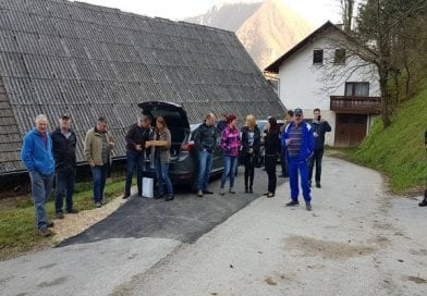 Obnovljene javne poti v KS Zidani Most, Laško, Savinjska regija