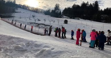 Petdeset otrok iz Baške preživlja lep zimski teden na Celjski koči, Celje, Savinjska regija