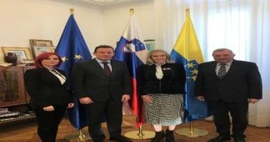 Obiski veleposlanice ZDA, Celje, SAVINJSKA REGIJA