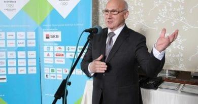 Poziv predsednika Olimpijskega komiteja Slovenije
