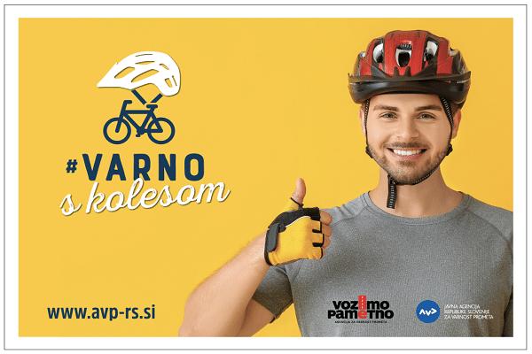 Danes se je začela preventivna akcija za večjo varnost kolesarjev