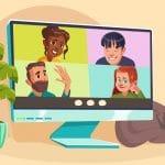 Zaznavanje lastne podobe na videokonferencah