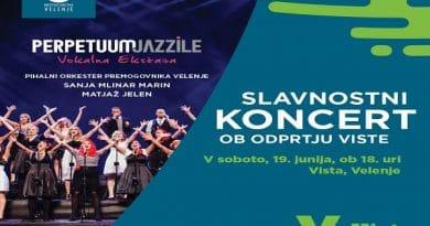 Slavnostni koncert ob odprtju Viste, Velenje, Savinjska regija