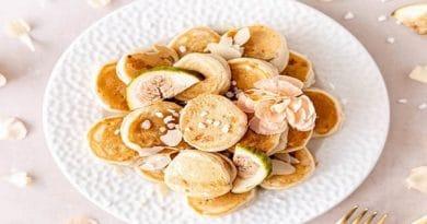 Mini bananine palačinke
