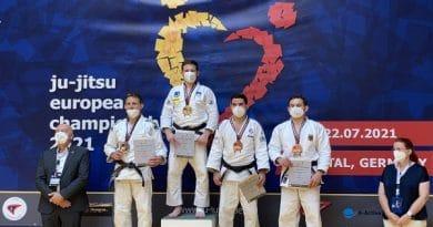Nov naslov evropskega prvaka za našega ju-jitsu junaka. Bravo, Tim Toplak!